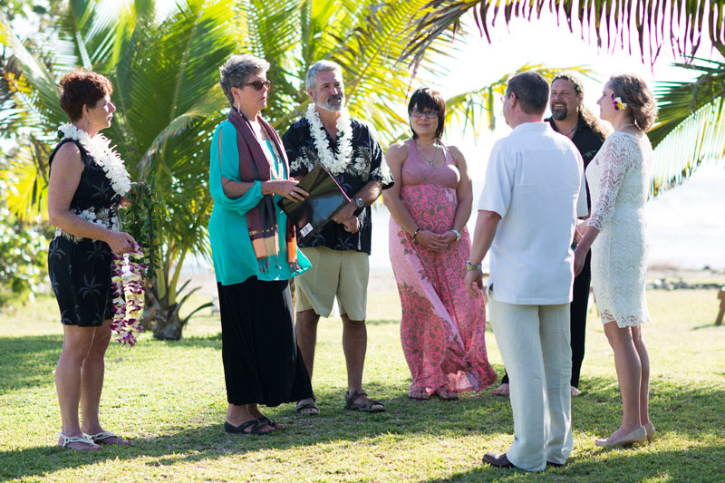 Kauai wedding officiant