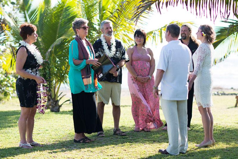 Kauai wedding officiant